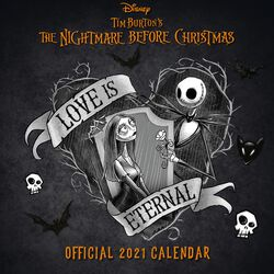Calendario pared 2021
