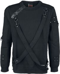 Warm Jumper with Two Bondage Straps