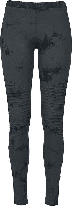 Ladies Biker Batik Leggings