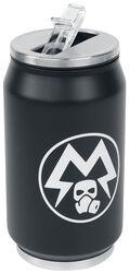 Glow in the Dark Metro Exodus - Spartan Logo Can-Shaped Drinks Bottle