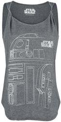 Episode 8 - The Last Jedi - R2D2 Line Sketch