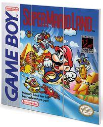 Super Mario Land - Game Boy Cover