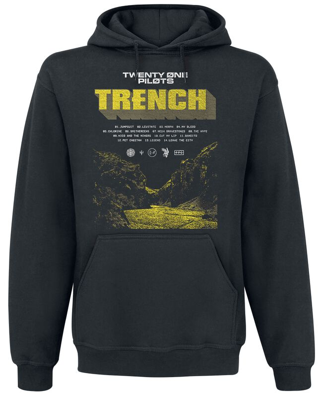 Cliff Trench Winter