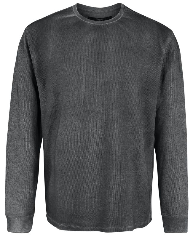 Grey Sweatshirt with Light Wash