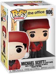 The Office Figura Vinilo Michael Scott as Classy Santa 906
