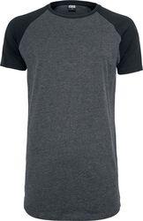 Camiseta Larga Raglan