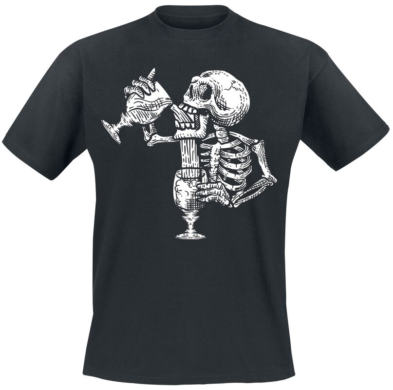Thirsty Skeleton