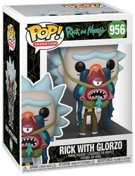 Rick With Glorzo Vinyl Figure 956