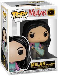 Figura Vinilo Live-Action - Mulan (Villager) 638