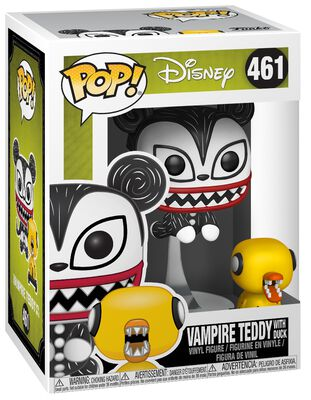 Figura Vinilo Vampire Teddy with Undead Duck 461