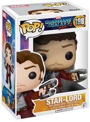 2 - Figura Vinilo Star-Lord Vinyl Figure 198 (posible Chase)