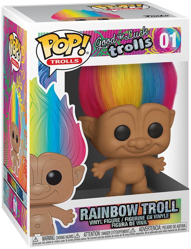Figura Vinilo Rainbow Troll 01