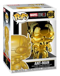 Figura Vinilo Marvel Studios 10 - Ant-Man (Chrome) 384