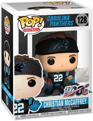Figura Vinilo Carolina Panthers - Christian McCaffrey 128