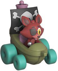 Figura Vinilo Super Racers  - Foxy the Pirate