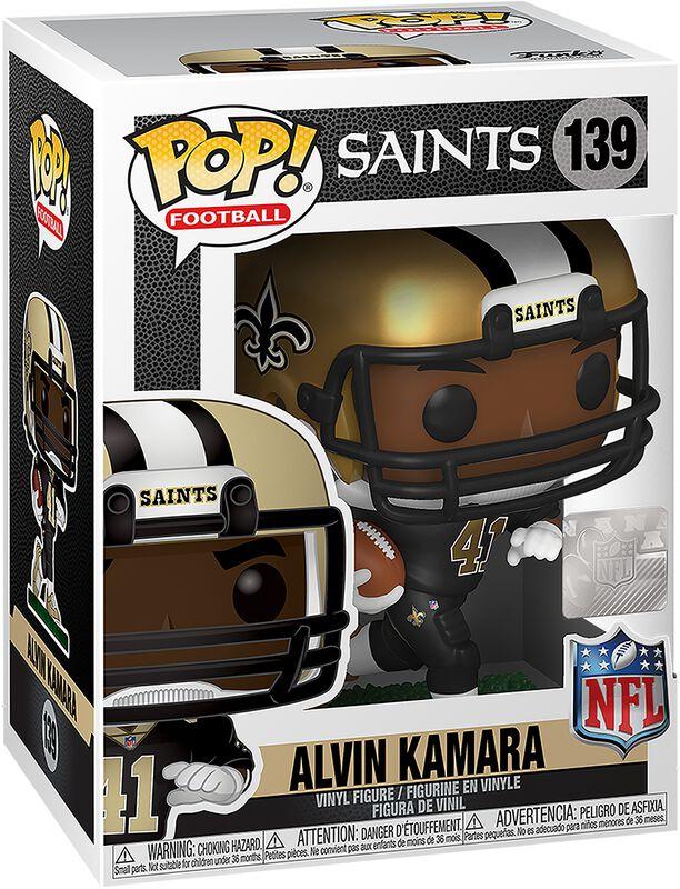 Figura vinilo New Orleans Saints - Alvin Kamara 139
