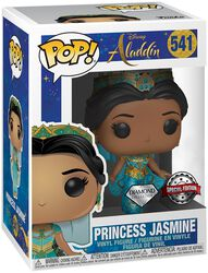 Figura Vinilo Princess Jasmine (Funko Shop Europe) 541