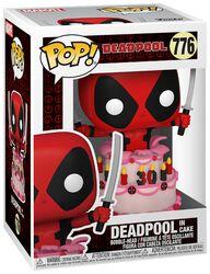 Figura Vinilo 30th Anniversary - Deadpool In Cake 776