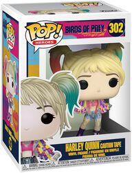 Figura Vinilo Harley Quinn Caution Tape 302