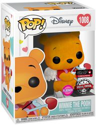 Figura vinilo Winnie The Pooh (Valentine) (Flocked) 1008