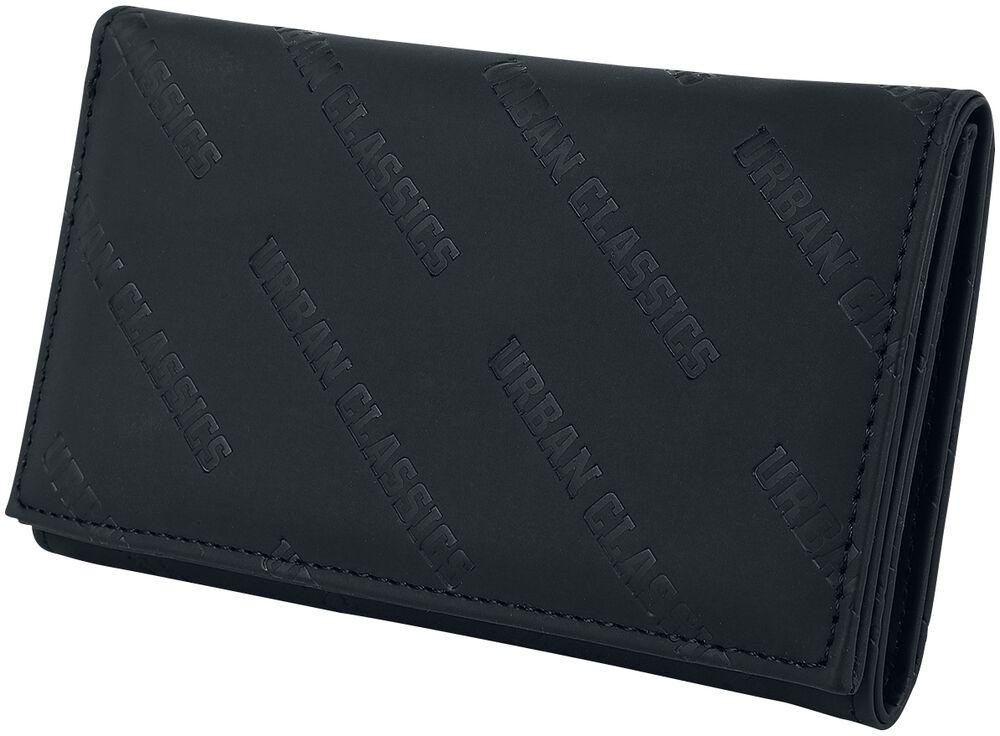Imitation Leather Allover Logo Wallet