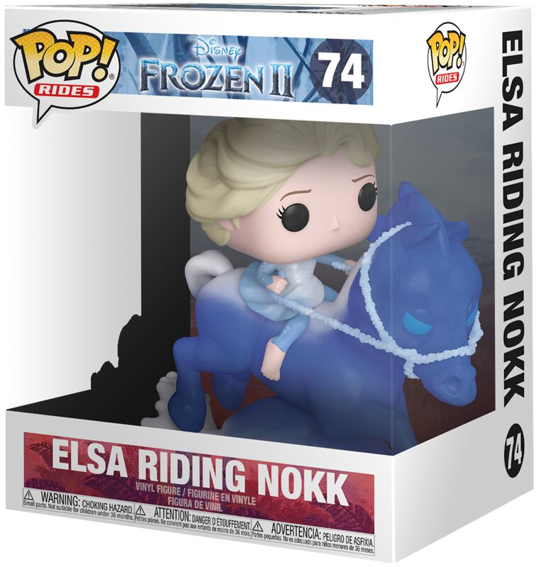 Figura Vinilo Elsa Riding Nokk (Pop Rides) 74