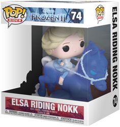 Figura Vinilo Elsa Riding Nokk (Pop Rides) 74