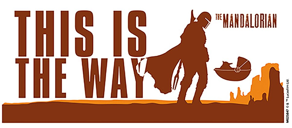 The Mandalorian - This Is The Way | Star Wars Taza | EMP
