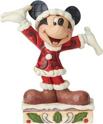 Mickey Mouse Mini Christmas Figurine