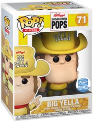 Kellogg's Figura Vinilo Sugar Corn Pops - Big Yella (Funko Shop Europe) 71
