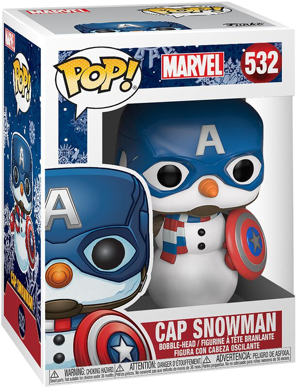 Figura Vinilo Cap Snowman (Holiday) - 532