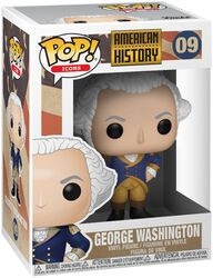 Figura Vinilo George Washington 09