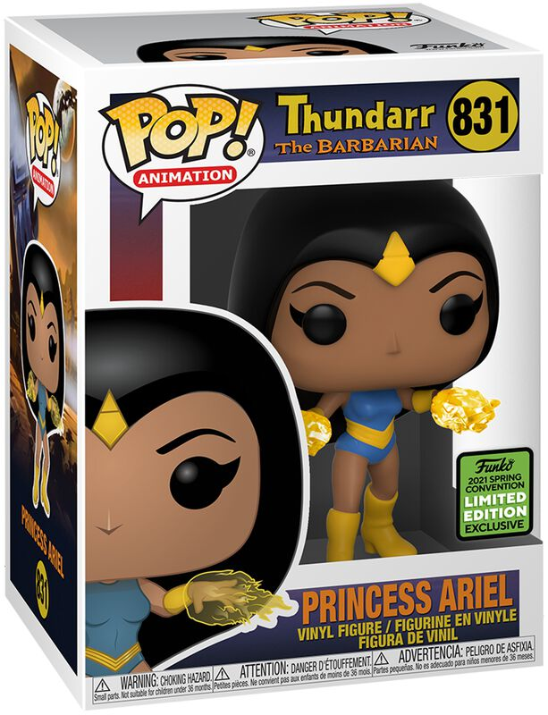 Figura vinilo ECCC 2021 - Princess Ariel (Funko Shop Europe) 831