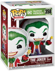 Figura vinilo Joker As Santa (Holiday) 358
