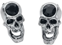 Screaming Skull Studs
