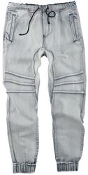 Comfy Blue Jeans with Casual Cut
