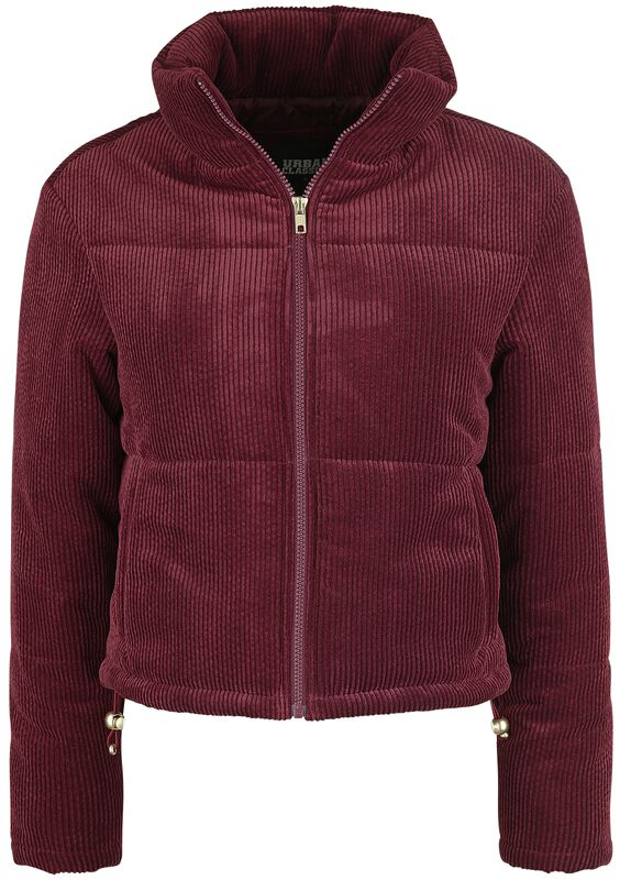 Ladies Corduroy Puffer
