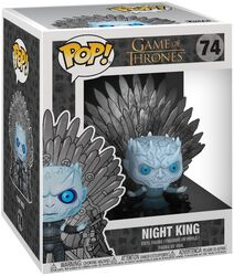 Figura Vinilo Night King Iron Throne (POP Deluxe) 74