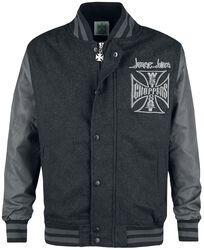 OG Cross Wool Baseball Jacket