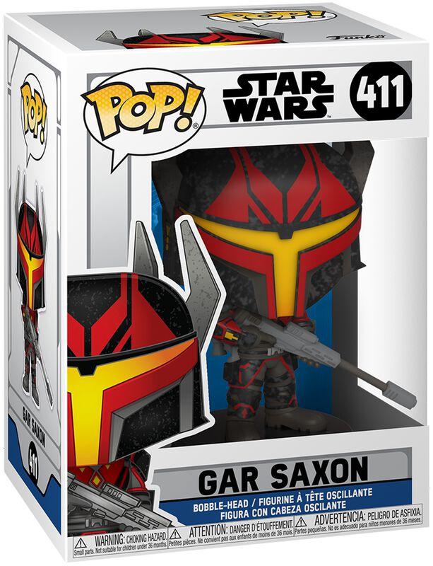Figura vinilo Clone Wars - Gar Saxon