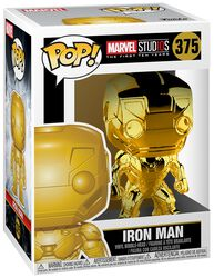 Figura Vinilo Marvel Studios 10 - Iron Man (Chrome) 375