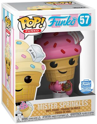 Figura Vinilo Fantastik Plastik - Mr. Sprinkles (Funko Shop Europe) 57