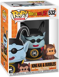 Figura Vinilo Z - King Kai and Bubbles 532