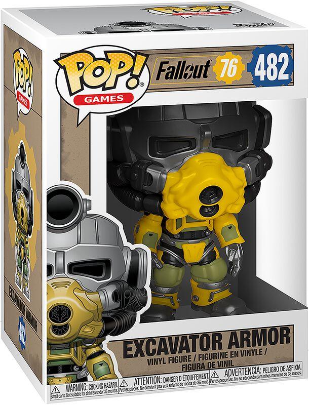 Figura vinilo 76 - Excavator Armor 482