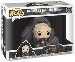 Figura Vinilo Daenerys on Dragonstone Throne 63