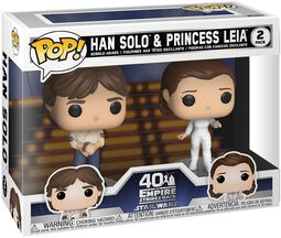 Figura Vinilo Empire Strikes Back 40th Anniversary - Han Solo & Princess Leia (2 Figures)