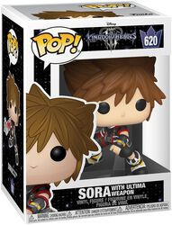 Figura Vinilo 3 - Sora with Ultima Weapon 620