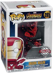 Figura Vinilo Infinity War - Iron Man (Red Chrome) 285
