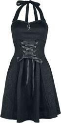 Vestido halterneck de Gothicana con cordón