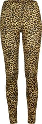 Ladies Leopard Leggings